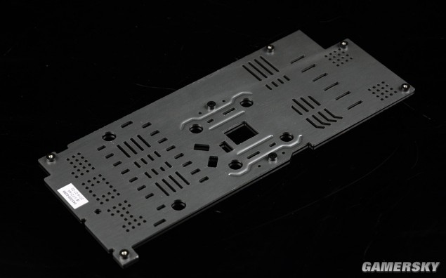 Galaxy GeForce GTX 750 Ti HOF_Backplate