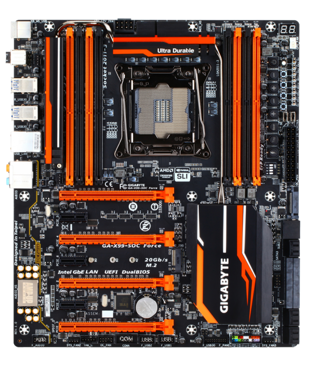 Gigabyte GA-X99-SOC Force Motherboard