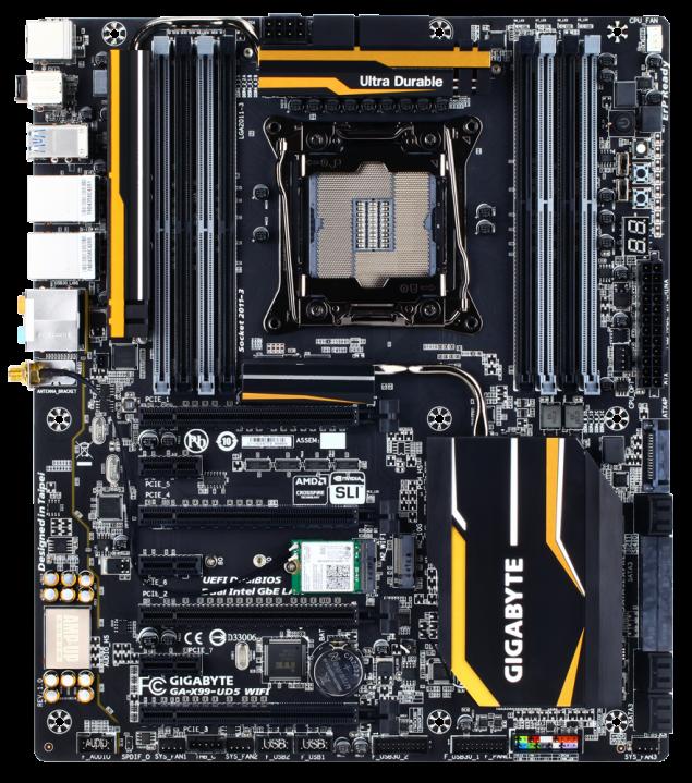 Gigabyte GA-X99-UD5 WiFi Motherboard