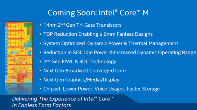 Intel Core M 14nm