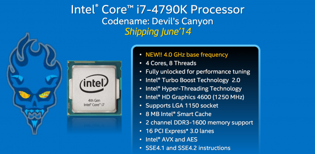 Intel Core i7-4790K Devil's Canyon