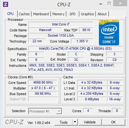 Intel Core i7-4790K Haswell Refresh