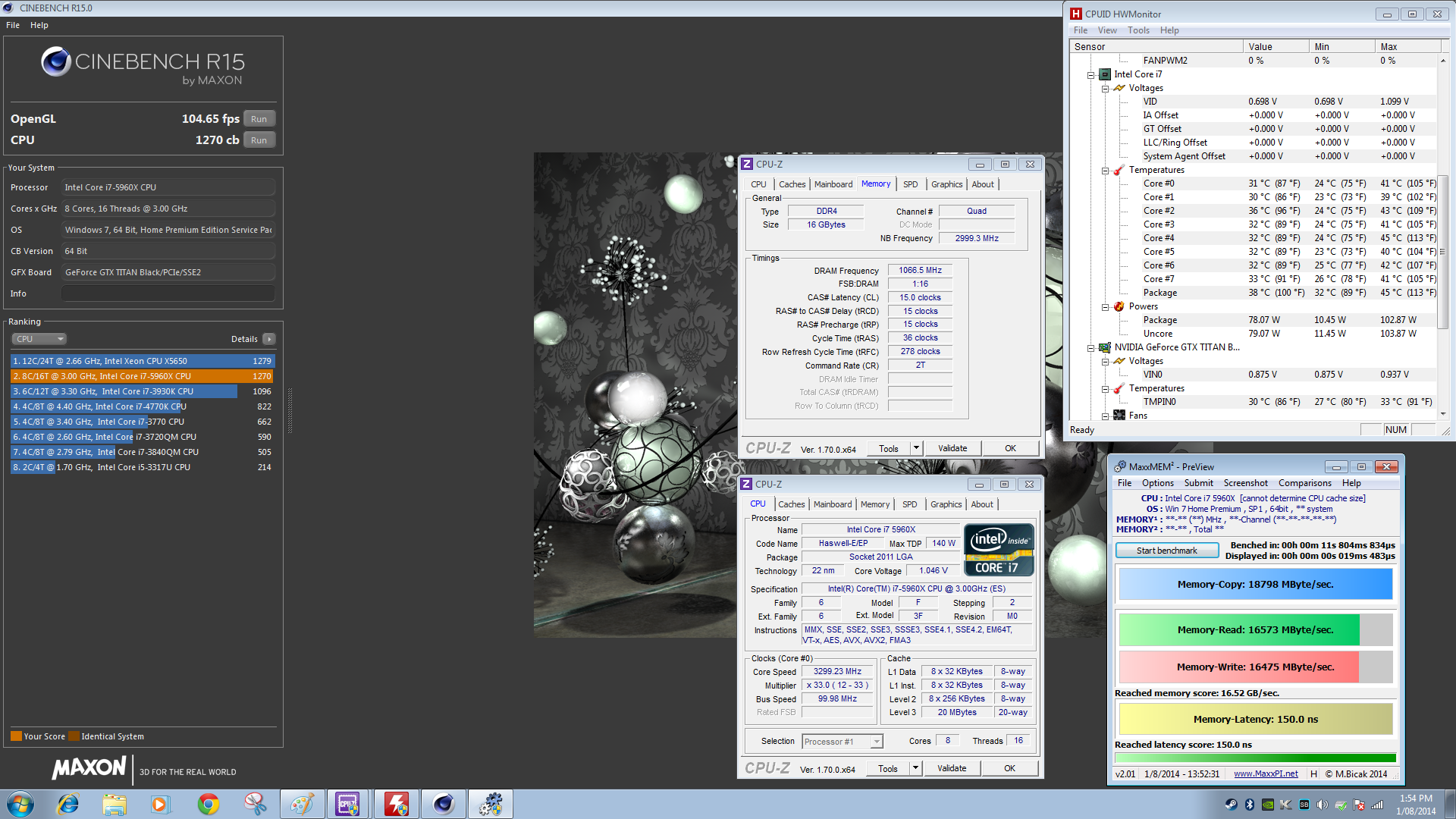 Intel Core I7 5960x Quot Haswell E Quot Hedt Flagship Processor