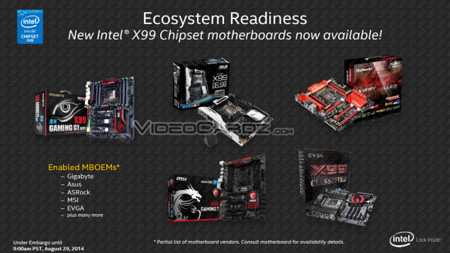 Intel Haswell-E ASUS X99 Deluxe