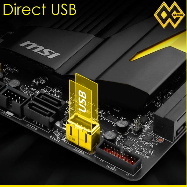 MSI X99 XPOWER AC USB Direct