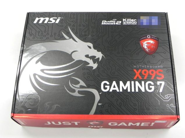 MSI X99S Gaming 7 Motherboard