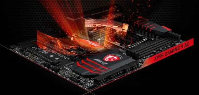 MSI X99S Gaming 9 AC Motherboard