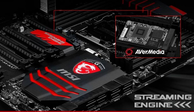 MSI X99S Gaming 9 AC Streaming Engine