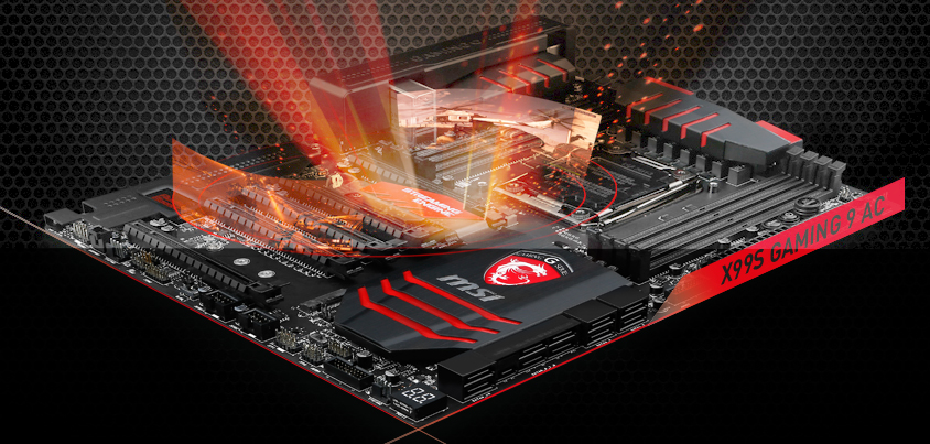 MSI's High-End X99S Gaming 9 AC and X99 SLI Plus Black