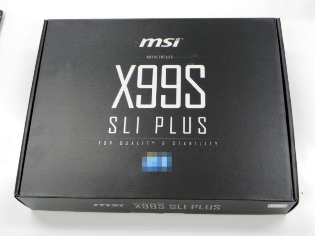 MSI X99S SLI Plus Black Edition Motherboard