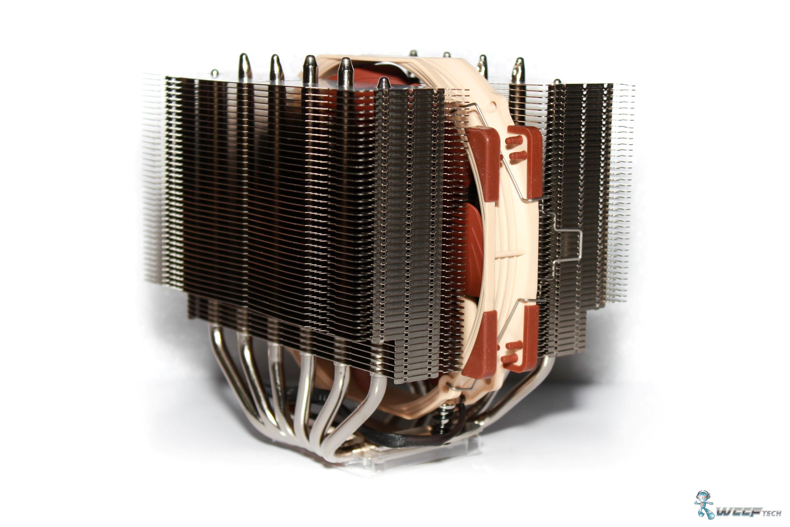 Noctua Nh D15 Cpu Dual Tower Heatsink Cooler Review U14s 4