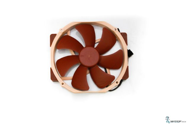 Noctua NH-D15 CPU Cooler _Fan Front