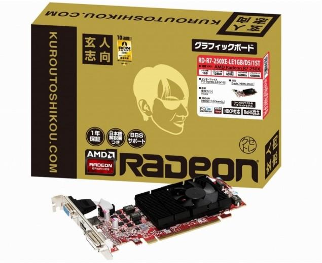 Radeon R7 250XE