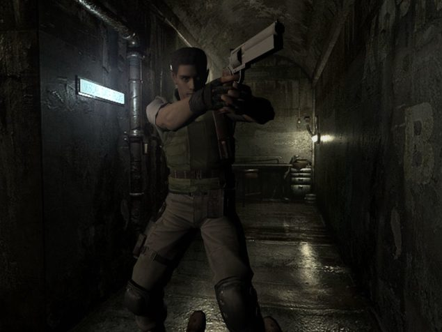 Resident Evil Hd Remaster Screenshot Comparison With The Wii Version Shows Advanced Texures And