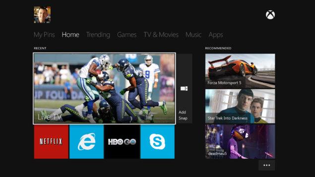 Xbox One OS