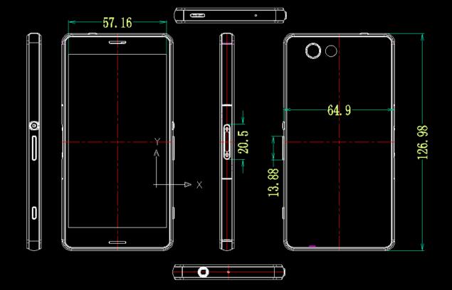 Xperia-Z3-Compact-dimensions
