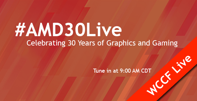 amd 30 years graphics live stream