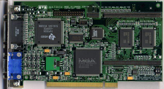 Matrox Millenium GPU