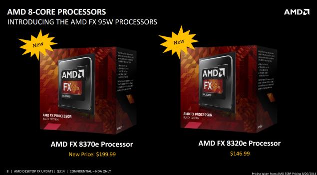 AMD FX-8370 FX-8370E FX-8320E