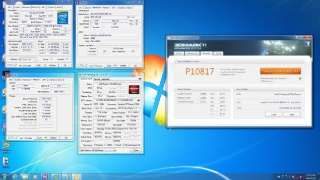 AMD Radeon R9 285 Tonga 3DMark 11