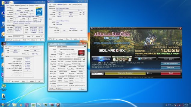 AMD Radeon R9 285 Tonga Final Fantasy XIV