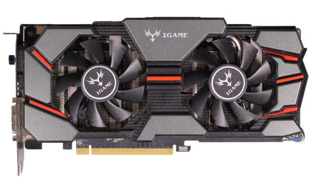 Colorful iGame GeForce GTX 970 Flame Wars_Front