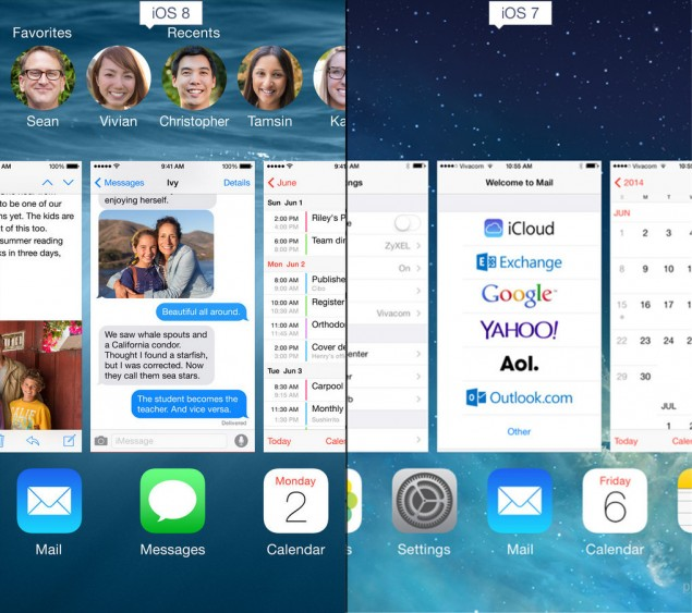 ios 8 multitasking