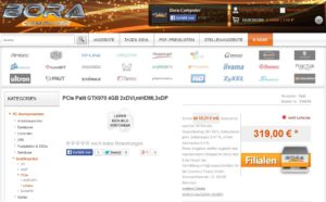 GTX 970 listing