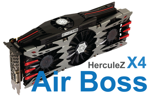Inno3D GeForce GTX 980 iChill Air Boss HerculeZ x4