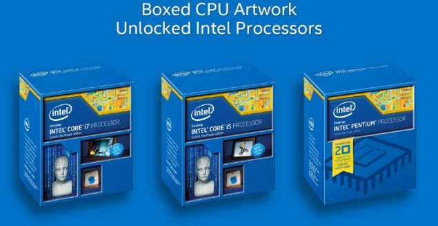 Intel Haswell Refresh Unlocked SKUS