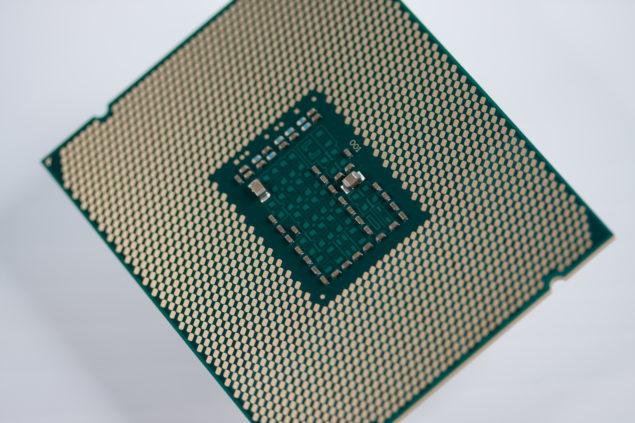 Intel Xeon E5-2600 V3 Processor Back
