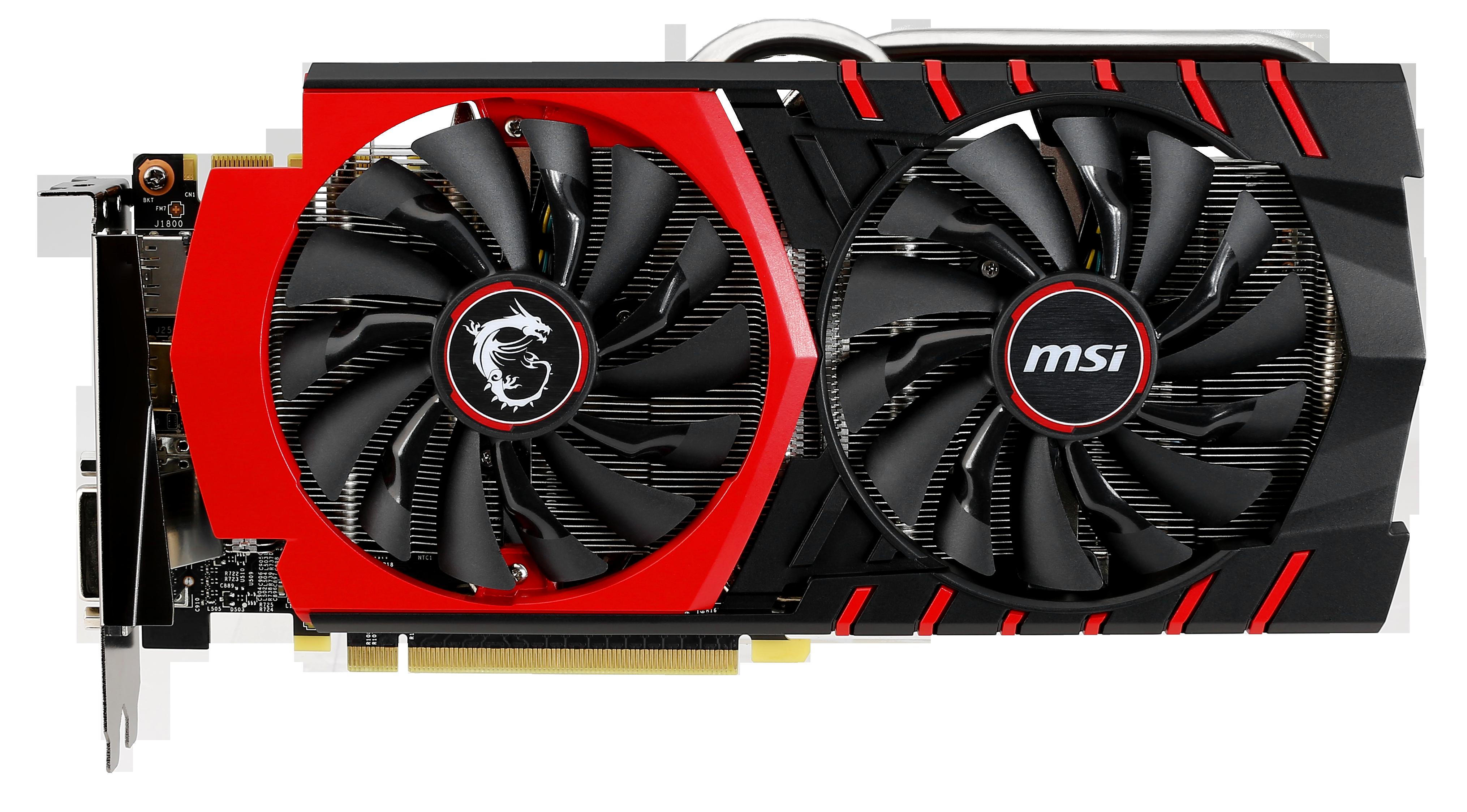 MSI GeForce GTX 970 GAMING 4 GB Twin Frozr V