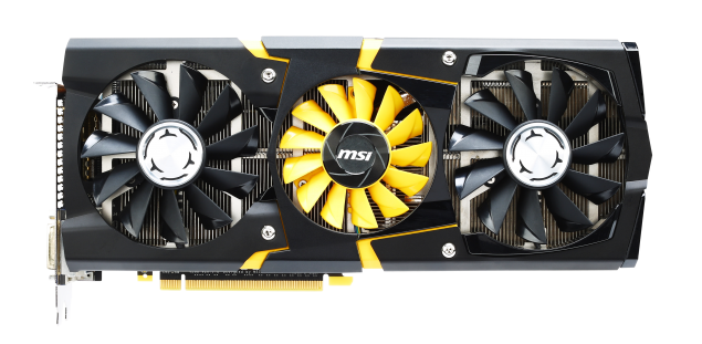 MSI GeForce Maxwell Lightning GPU