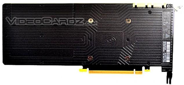 NVIDIA GeForce GTX 980 Backplate