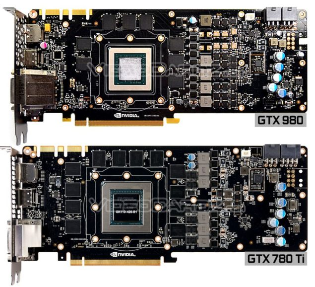 NVIDIA GeForce GTX 980 PCB