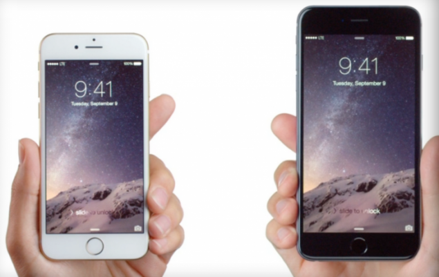 iPhone 6 Plus vs iphone 5s