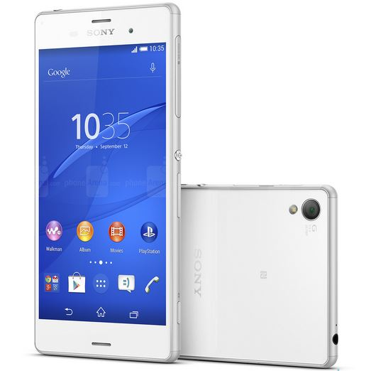 sony xperia z3 released