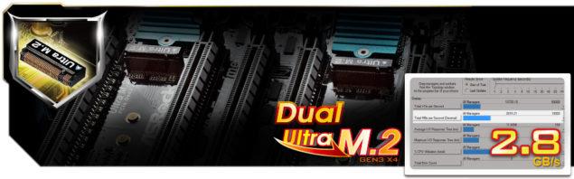 2 Ultra M.2 PCIe Gen3 x4