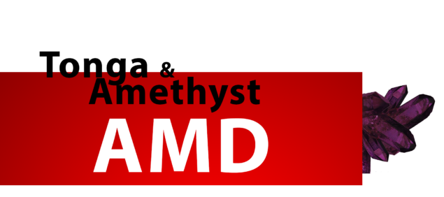 AMD Tonga XT and Amethyst XT