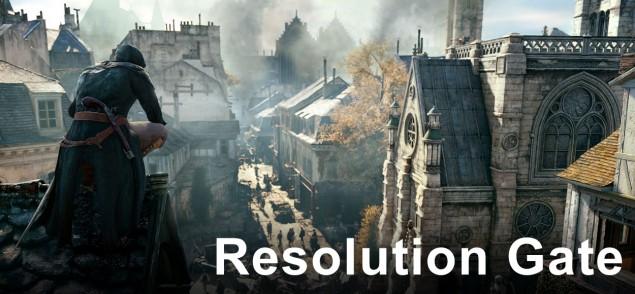 Assassins Creed Unity Ubisoft Resolution Gate