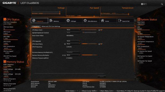 Gigabyte X99 UD7 WiFi BIOS_1