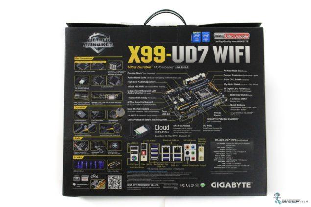 Gigabyte X99 UD7 WiFi_Box Back