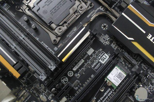 Gigabyte X99 UD7 WiFi_Middle Heatsink