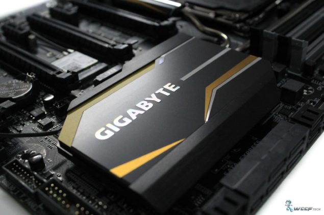 Gigabyte X99 UD7 WiFi_PCH Heatsink Featured