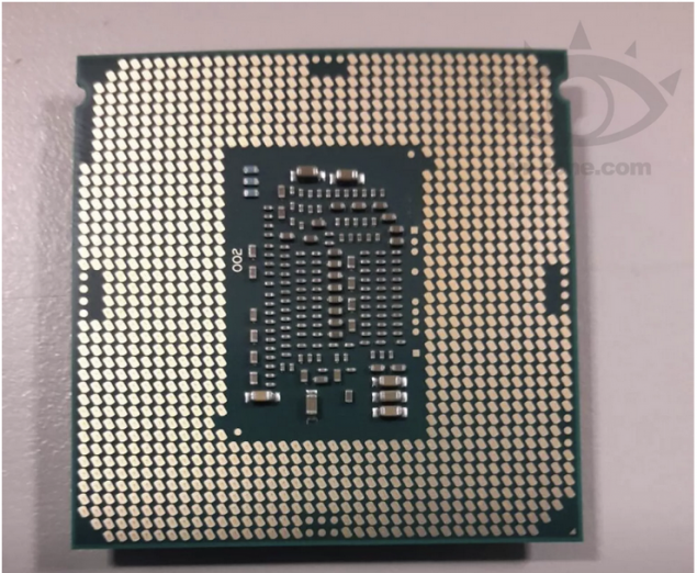 Intel Skylake Processor Picture - Engineering Sample