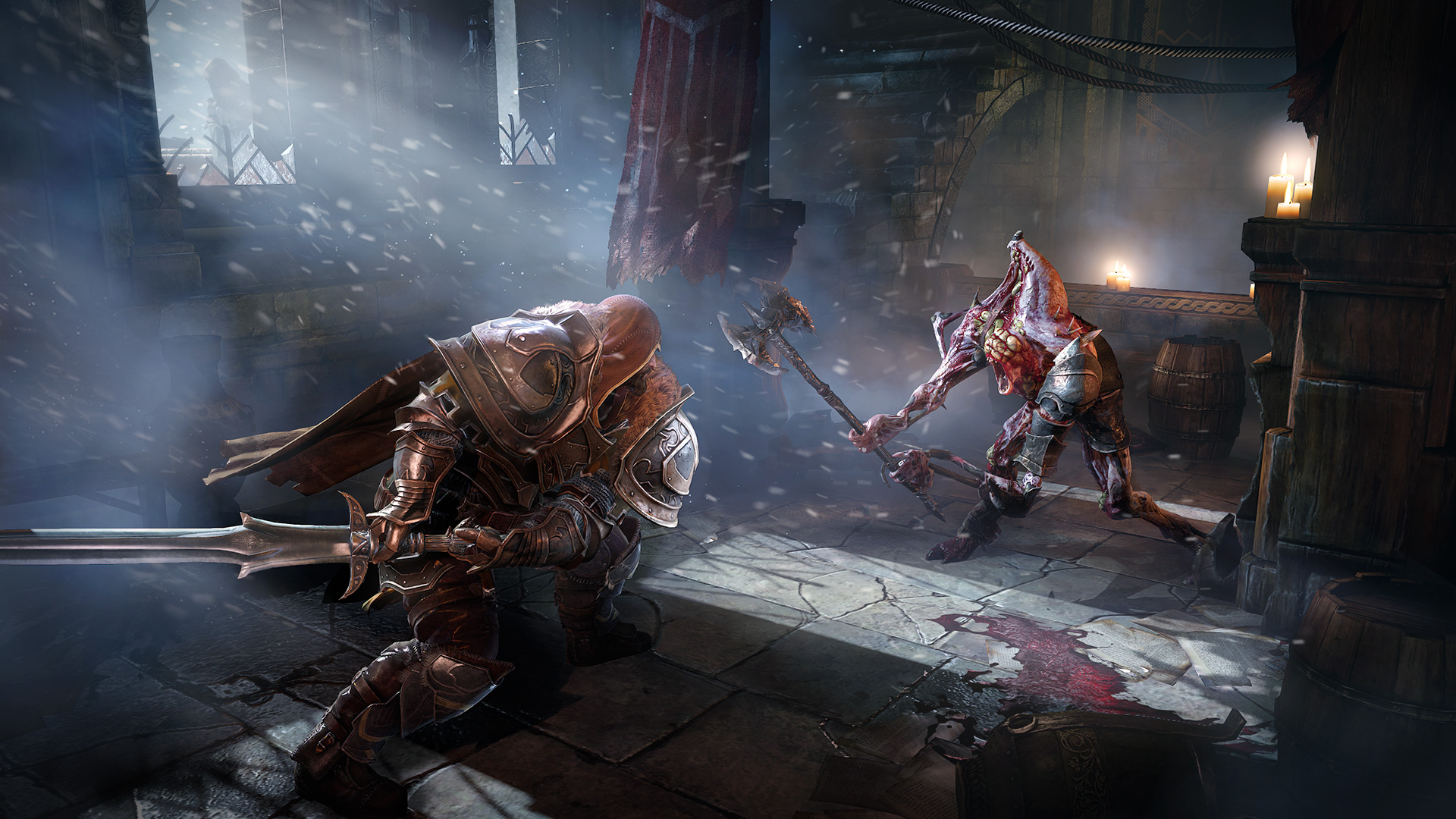 Lords Of The Fallen PC Vs PS4 Screenshot Comparison: GTX
