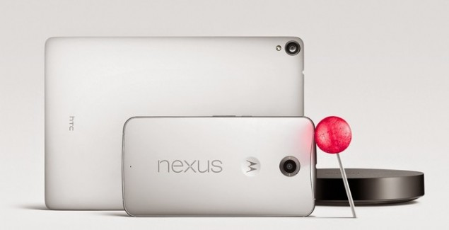 nexus 7 nexus 6 android lollipop SDK