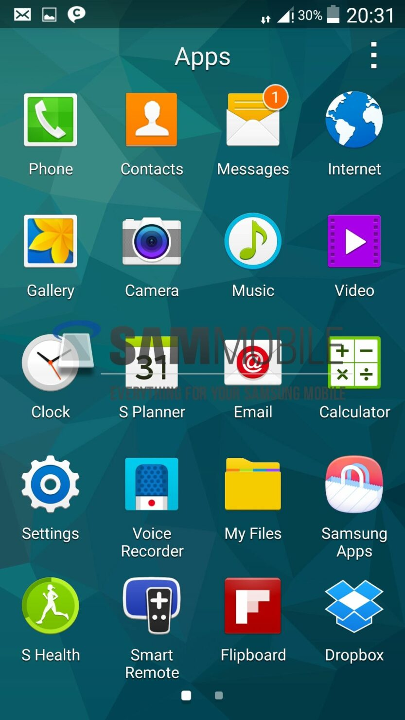Galaxy S5 on Android L