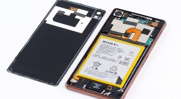 sony Xperia Z3 teardown waterproof