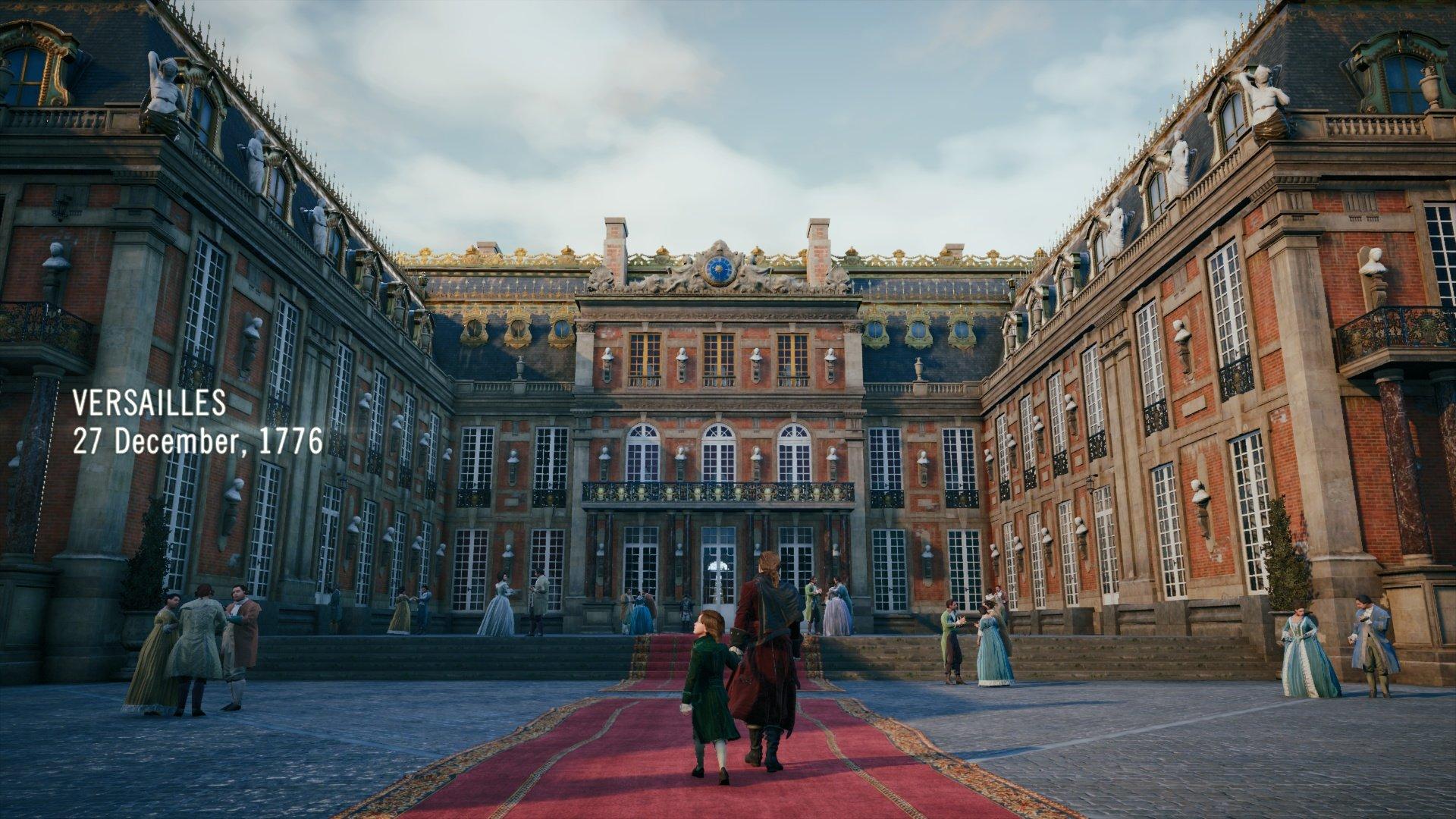 Assassin S Creed Unity Pc Vs Ps4 Screenshot Comparison Console